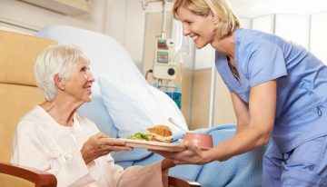 Responsibilities of an elderly nurse