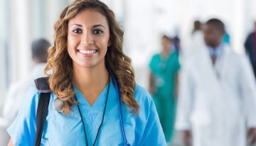 A nurse is the backbone of health care industry